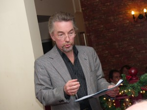 Poetry recital for Wish upon A Star charity, December 2014